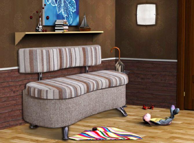 Как выбрать диван для прихожей: особенности мебели 1