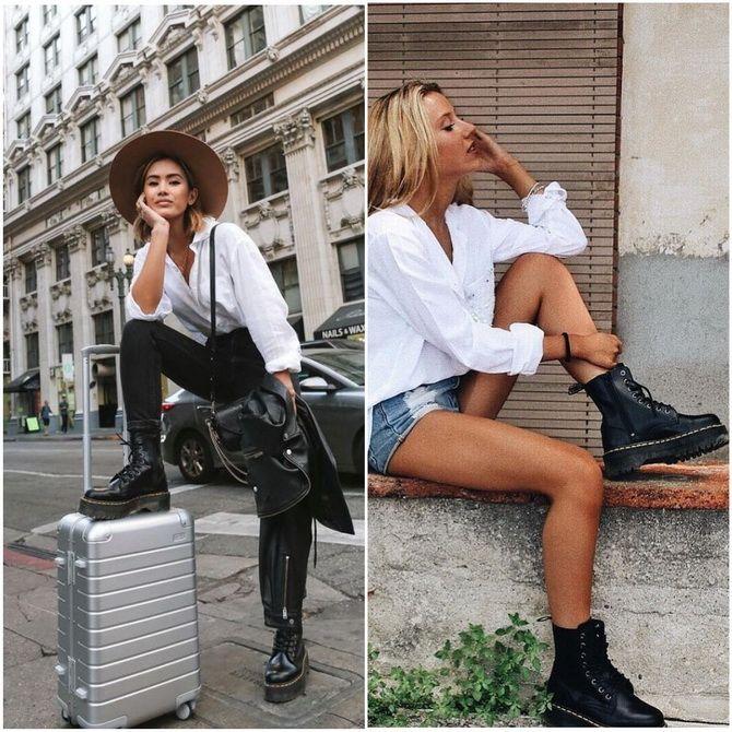 З чим носити мартінси у 2020-2021 році: стильні образи з черевиками Dr. Martens 13