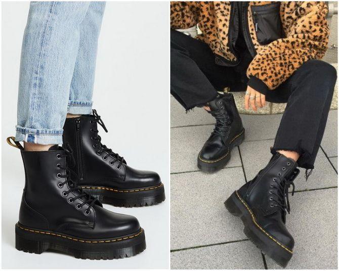 З чим носити мартінси у 2020-2021 році: стильні образи з черевиками Dr. Martens 15