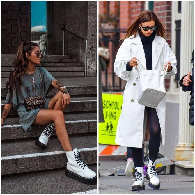 З чим носити мартінси у 2020-2021 році: стильні образи з черевиками Dr. Martens 34