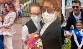 З квітами, без лінійки і в масках – діти зірок пішли в школу 1 вересня