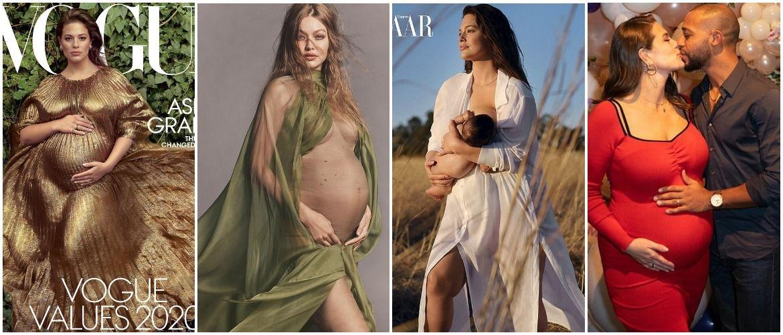 Супермодели, которые на пике популярности выбрали материнство