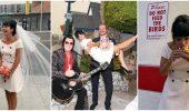 Необычная свадьба Лили Аллен в Лас-Вегасе: фальшивый Элвис и бургеры на церемонии