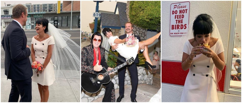 Незвичайне весілля Лілі Аллен у Лас-Вегасі: несправжній Елвіс і бургери на церемонії