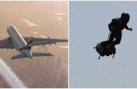 «Парня в реактивном ранце» заметили на высоте 900 метров возле аэропорта в Лос-Анджелесе