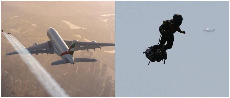 «Хлопця в реактивному ранці» помітили на висоті 900 метрів біля аеропорту в Лос-Анджелесі