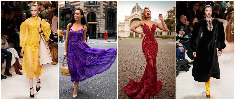 Мереживні сукні: ніжний та жіночний тренд 2020-2021 року