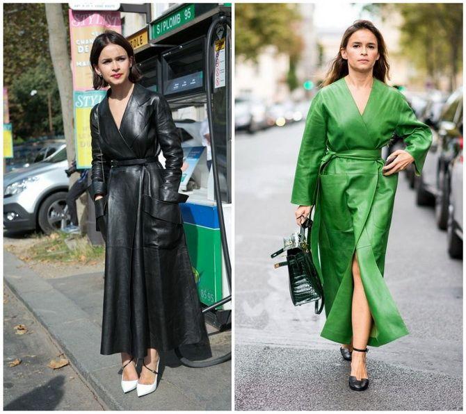 Кожаное платье: самая модная тенденция 2020-2021 года 14