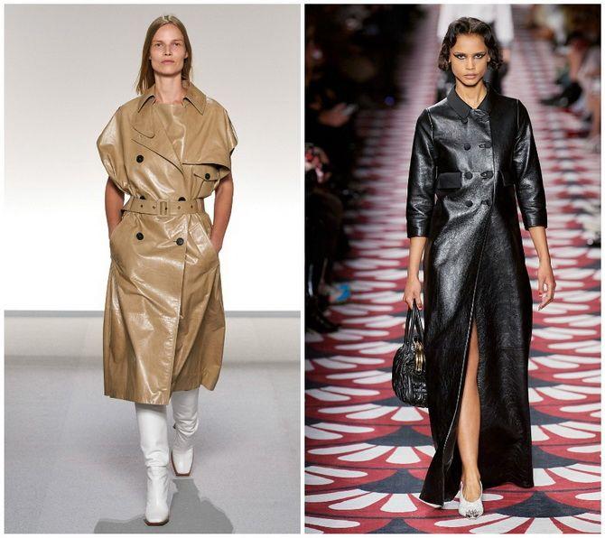Кожаное платье: самая модная тенденция 2020-2021 года 2