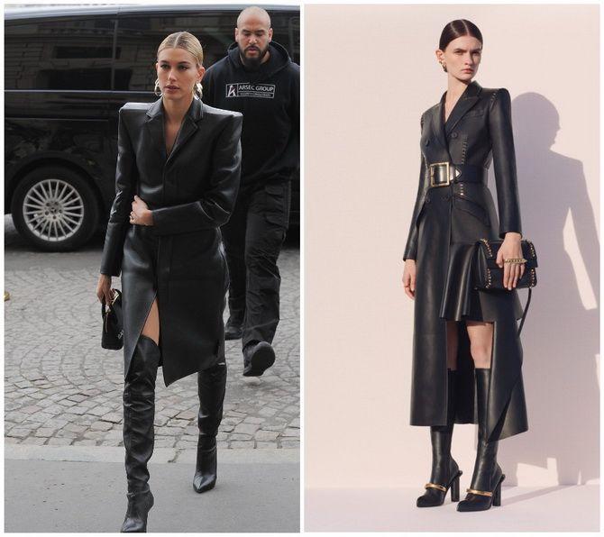 Кожаное платье: самая модная тенденция 2020-2021 года 20