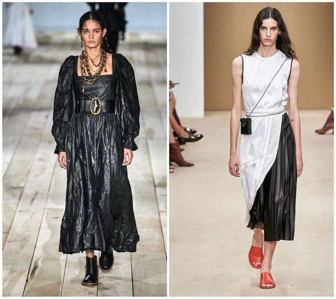 Кожаное платье: самая модная тенденция 2020-2021 года 21