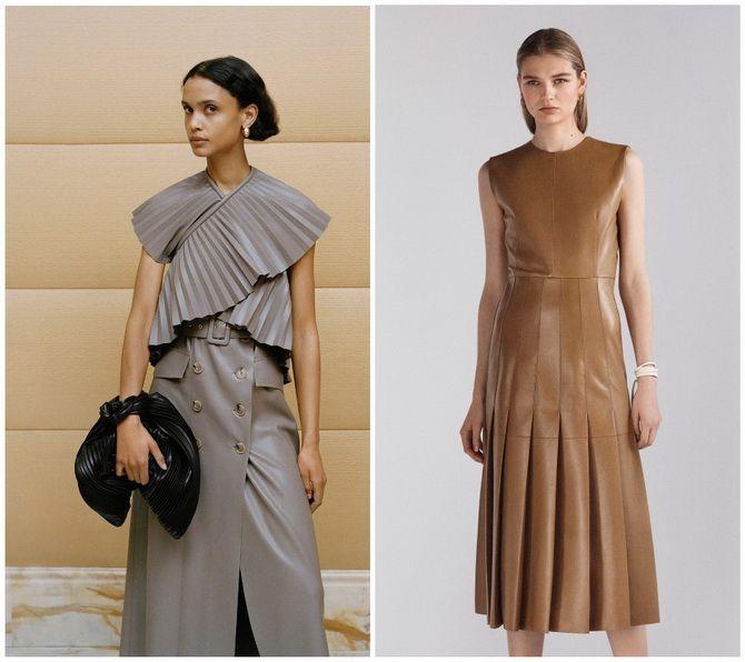 Кожаное платье: самая модная тенденция 2020-2021 года 4