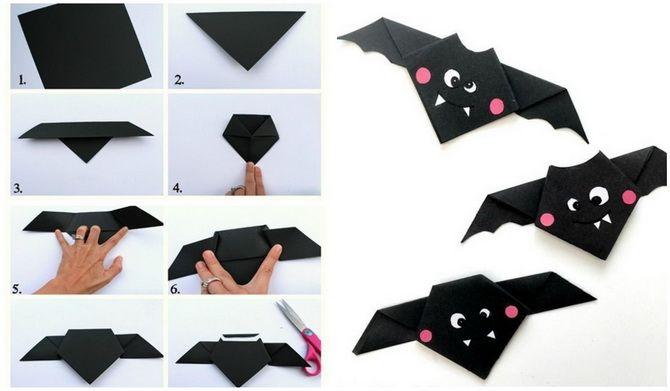 Кажан на Геловін: як зробити оригінальний декор своїми руками 5