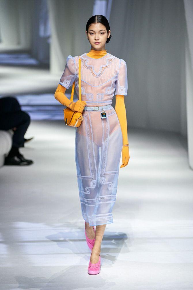 Неделя моды в Милане – лучшие показы и образы весна-лето 2021, смотреть онлайн 14