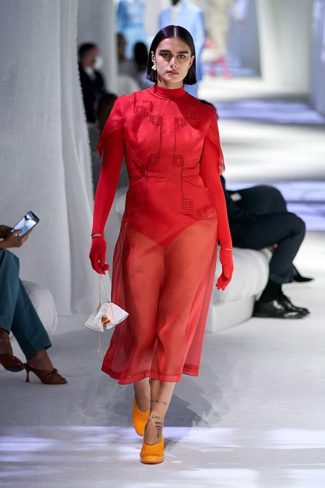 Неделя моды в Милане – лучшие показы и образы весна-лето 2021, смотреть онлайн 17