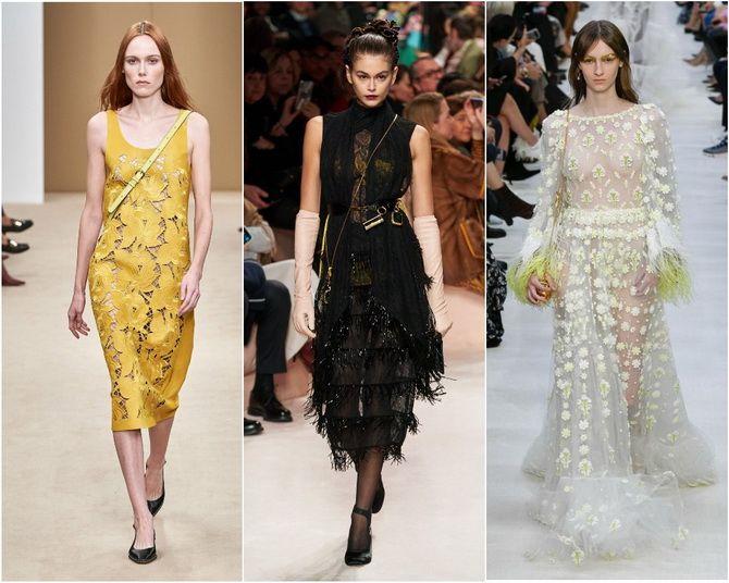 Кружевные платья: самый женственный тренд 2020-2021 года 1