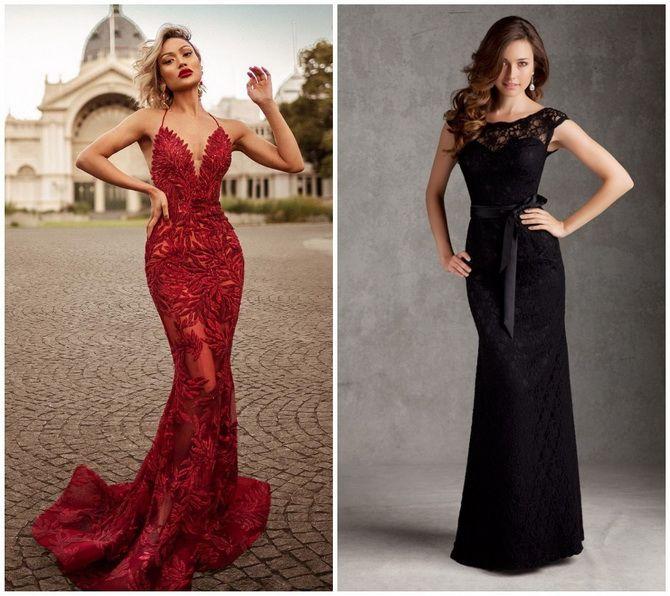 Кружевные платья: самый женственный тренд 2020-2021 года 12