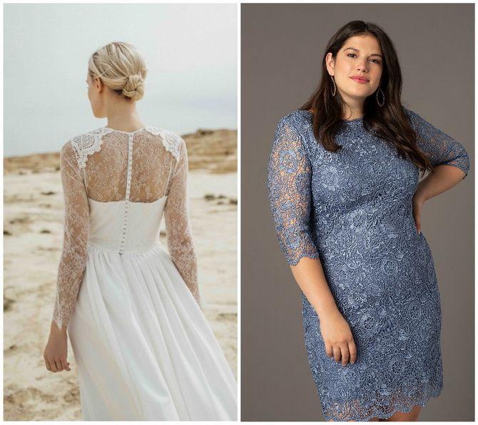 Кружевные платья: самый женственный тренд 2020-2021 года 17