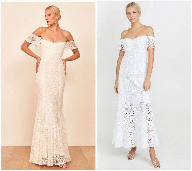 Кружевные платья: самый женственный тренд 2020-2021 года 18