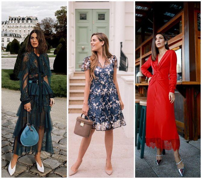 Кружевные платья: самый женственный тренд 2020-2021 года 19