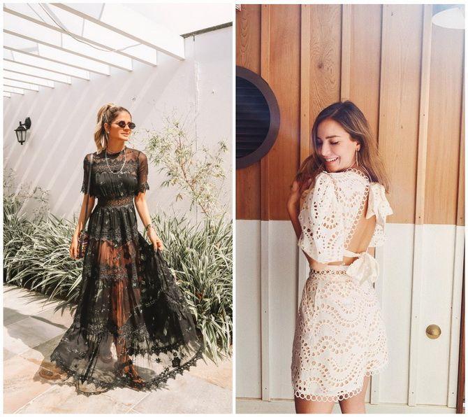 Кружевные платья: самый женственный тренд 2020-2021 года 20