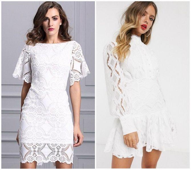 Кружевные платья: самый женственный тренд 2020-2021 года 21