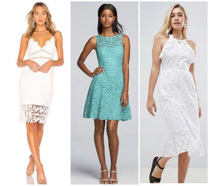 Кружевные платья: самый женственный тренд 2020-2021 года 22