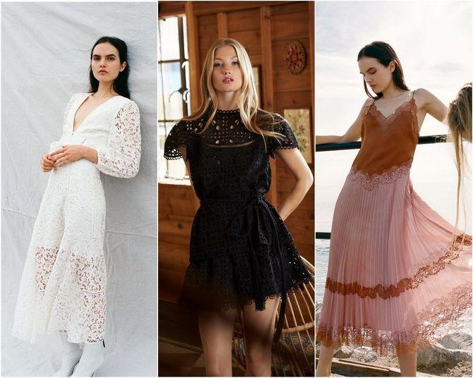 Кружевные платья: самый женственный тренд 2020-2021 года 3
