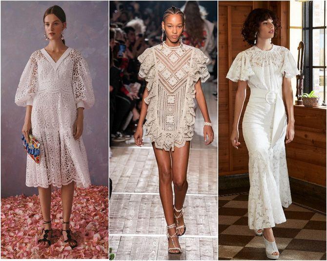 Кружевные платья: самый женственный тренд 2020-2021 года 4