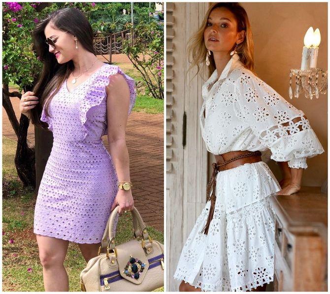 Кружевные платья: самый женственный тренд 2020-2021 года 6