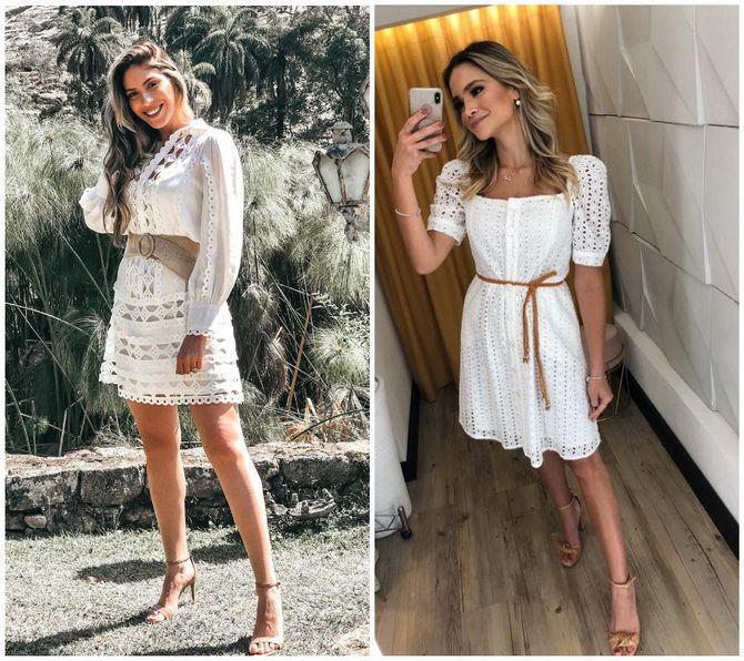 Кружевные платья: самый женственный тренд 2020-2021 года 7