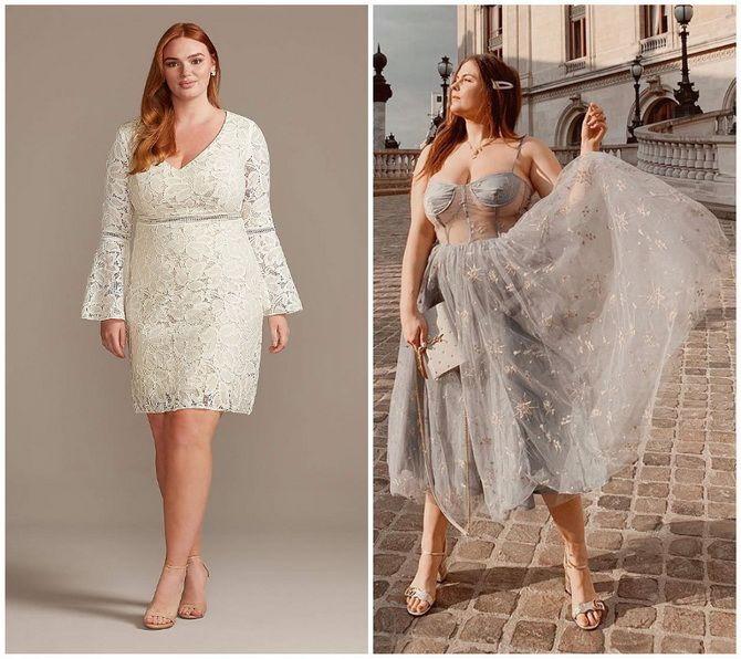 Кружевные платья: самый женственный тренд 2020-2021 года 8