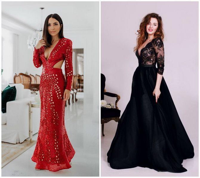 Кружевные платья: самый женственный тренд 2020-2021 года 9