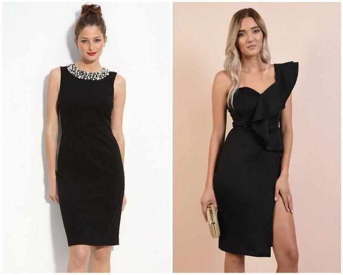 Платье-футляр – элегантная классика в женской моде 2020-2021 года 2