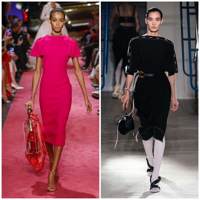 Платье-футляр – элегантная классика в женской моде 2020-2021 года 11