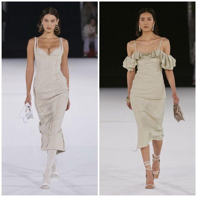 Платье-футляр – элегантная классика в женской моде 2020-2021 года 13