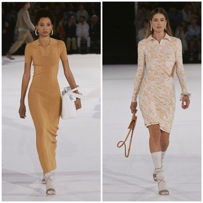 Платье-футляр – элегантная классика в женской моде 2020-2021 года 14