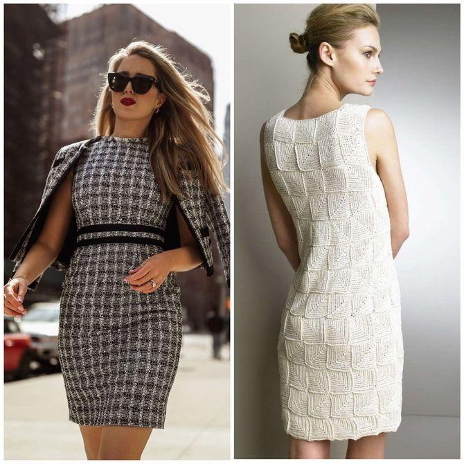 Платье-футляр – элегантная классика в женской моде 2020-2021 года 15