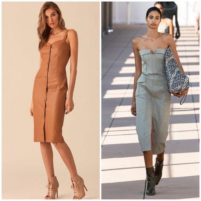 Платье-футляр – элегантная классика в женской моде 2020-2021 года 18