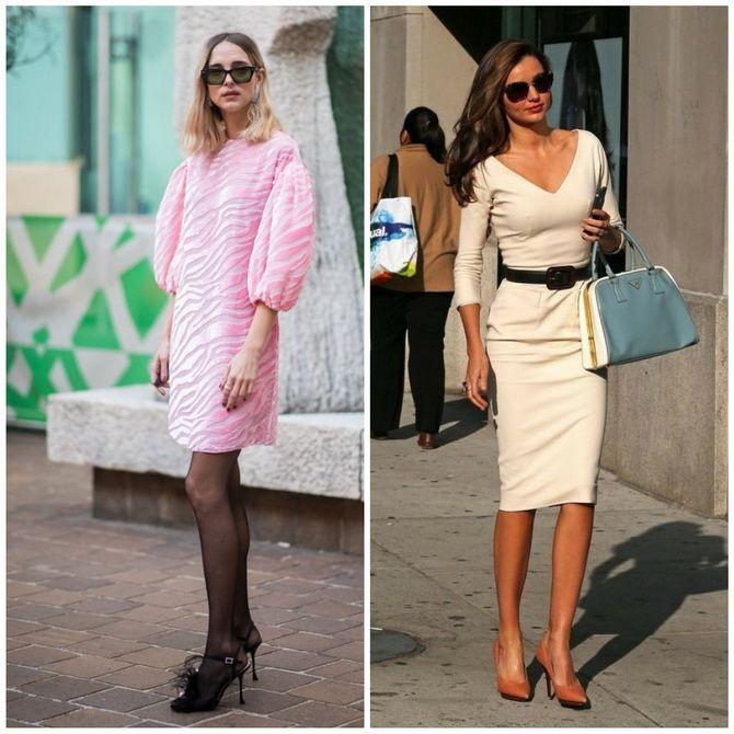 Платье-футляр – элегантная классика в женской моде 2020-2021 года 19