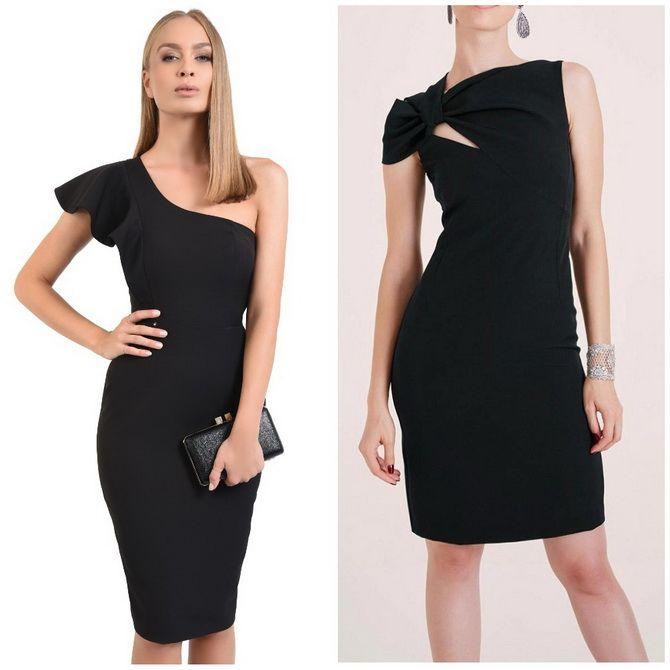 Платье-футляр – элегантная классика в женской моде 2020-2021 года 3