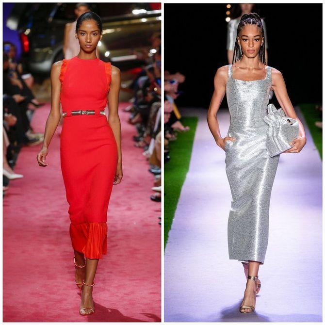 Платье-футляр – элегантная классика в женской моде 2020-2021 года 22