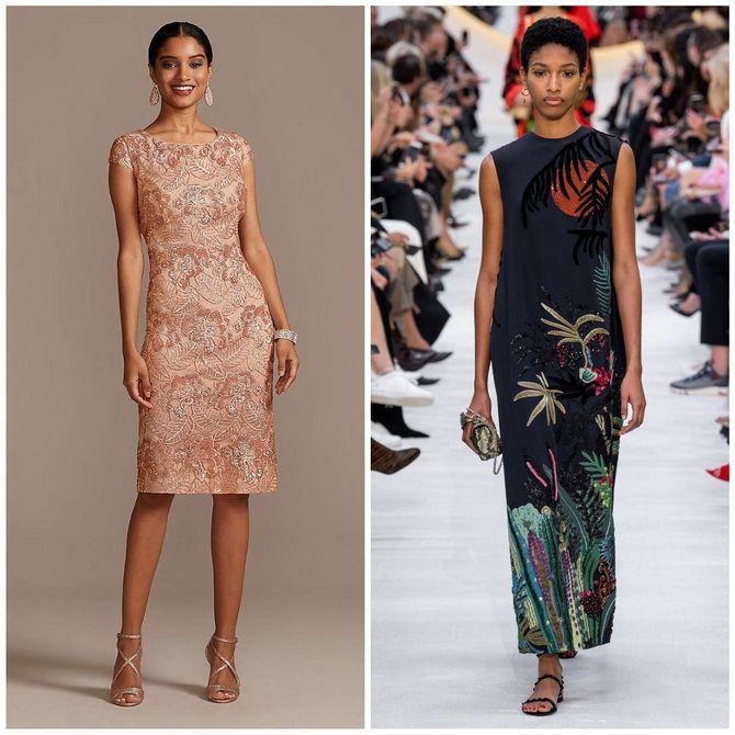 Платье-футляр – элегантная классика в женской моде 2020-2021 года 25
