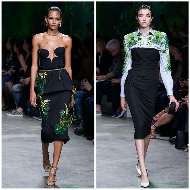 Платье-футляр – элегантная классика в женской моде 2020-2021 года 29
