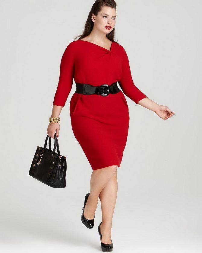 Платье-футляр – элегантная классика в женской моде 2020-2021 года 33