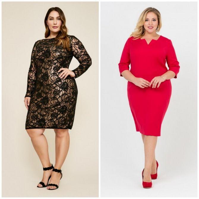 Платье-футляр – элегантная классика в женской моде 2020-2021 года 34