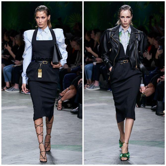 Платье-футляр – элегантная классика в женской моде 2020-2021 года 5