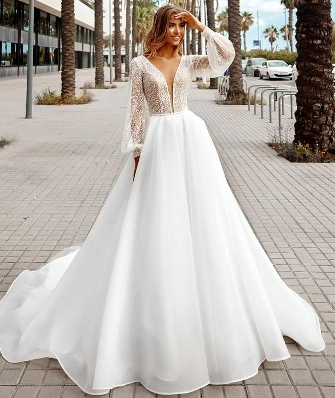 Популярные и изысканные свадебные платья Versal 6