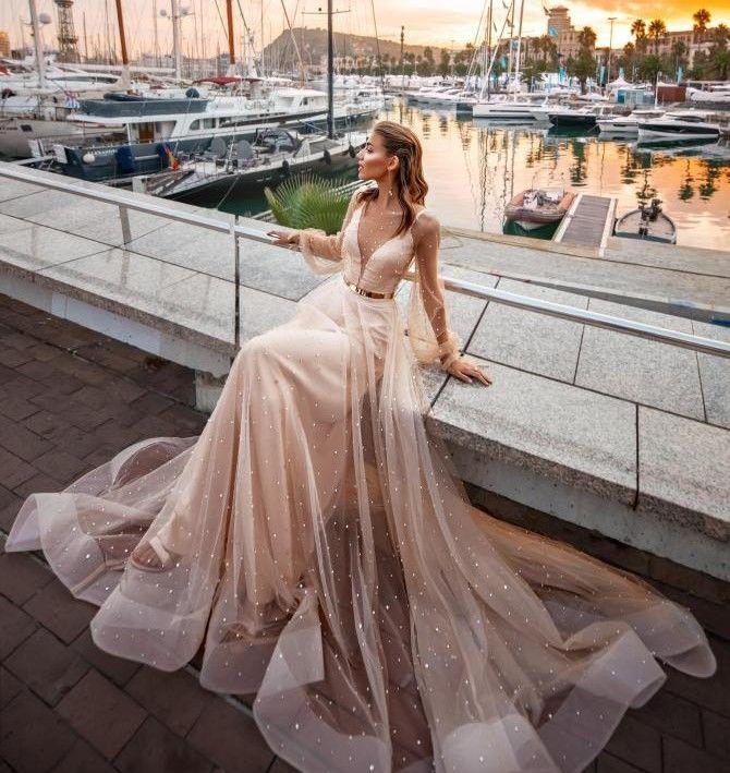 Популярные и изысканные свадебные платья Versal 4