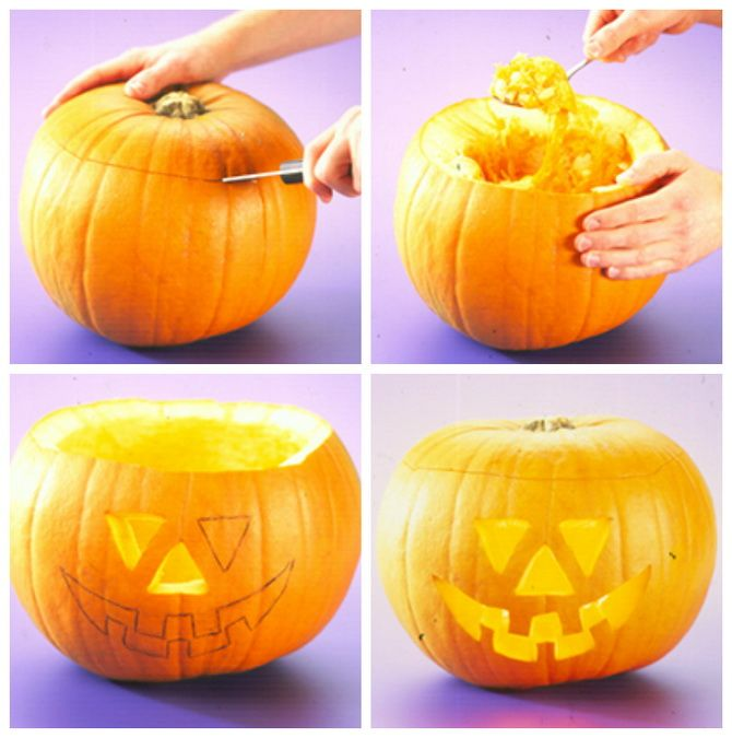 35+ DIY Halloween Pumpkin Ideas 33